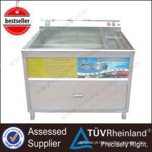 Máquina de lavar automática de legumes de frutas comerciais ultra-sônica profissional automática