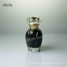 Blumen-Form-kleine Vails-Glasparfümflasche