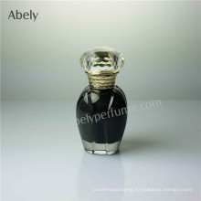 Flower Shape Small Vails Glass Perfume Bottle