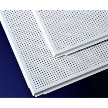 400 * 400mm techos de aluminio de aislamiento acústico para decoración interior