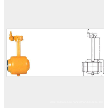 полностью сварной 3-х шаровой кран с патентом и конкурентоспособной ценой