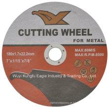 As ferramentas abrasivas que cortam as telhas da roda cortaram a roda