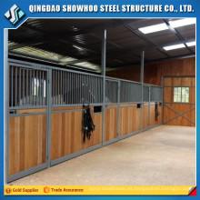 Construcción de edificios de bajo costo Establos de caballos de acero prefabricados China