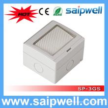 Saip High Quality 3 Gang étanche prise de courant électrique pour la salle de bain