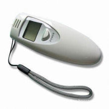 Digital Breath Alcohol Tester with Low Voltage Indicator, Quick Response and Resume