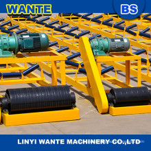 China supplier WANTE used rubber conveyor belt price for sand and gravel