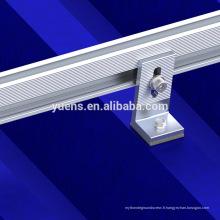 Cadre en aluminium d'extrusion de haute résistance pour l'énergie solaire de panneau