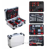 127 pcs professional aluminium case tool set
