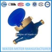 Multi nozzle dry mechanical water meter