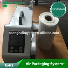 Site de vente gonflable sac machine emballage gonflable de récipient