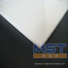 Белый транспортера PVC 3.0 mm пояс