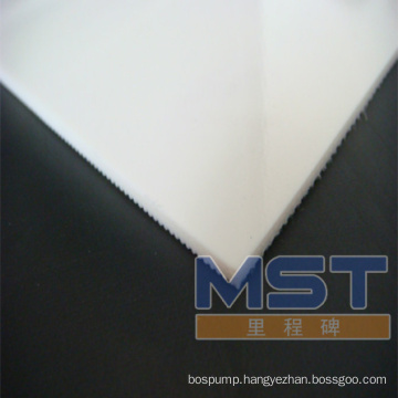 3.0mm white PVC conveyor belt