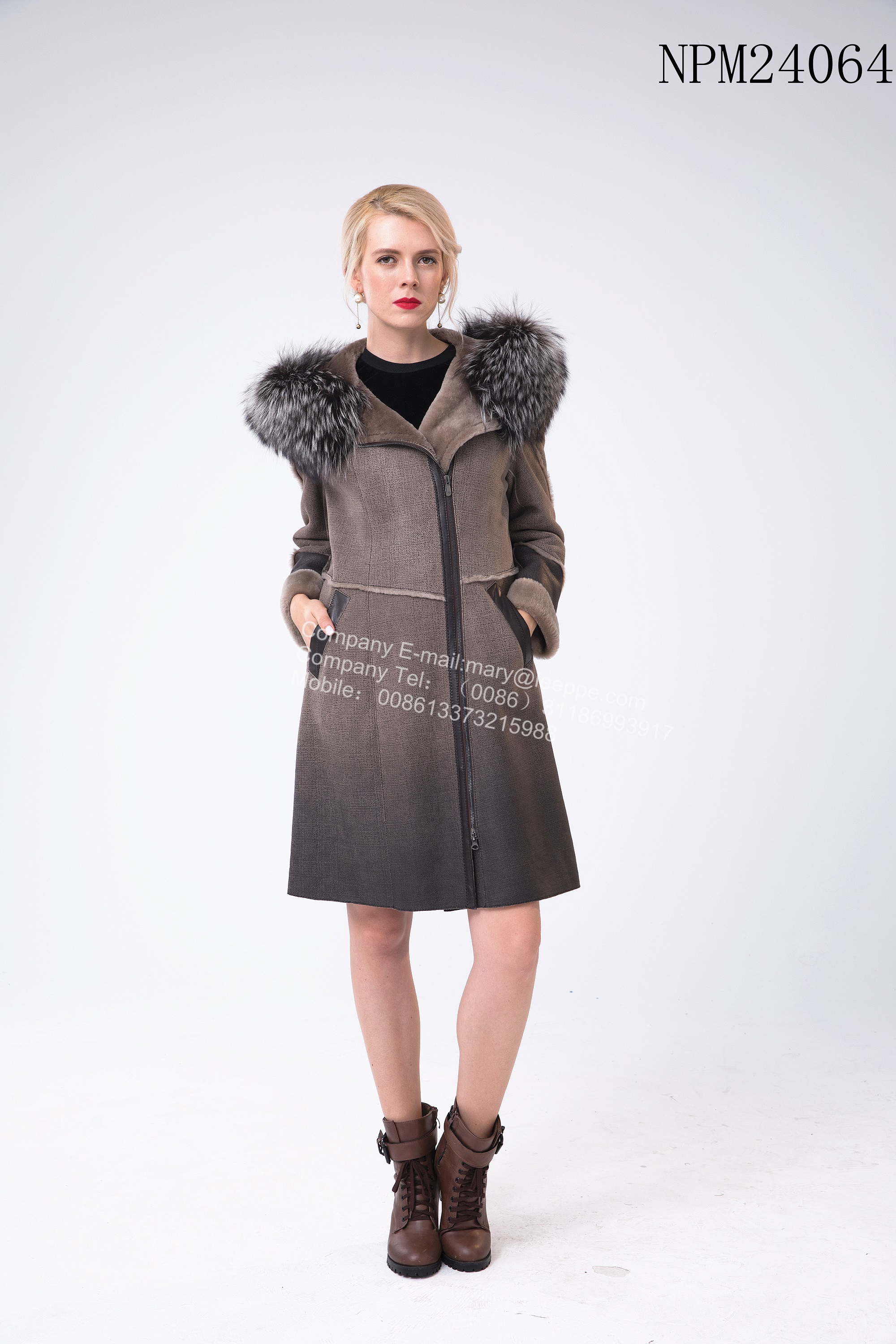 Winter Women Fur Coat