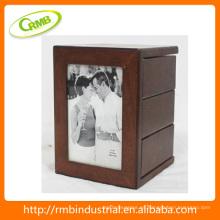 Foto de madera del marco de la vendimia (RMB)