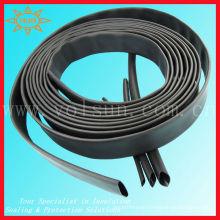 Flame retardant heat shrink tube with adhesive