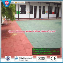 Garden Sports From China Rubber Playground Colorful Rubber Paver Playground Rubber Flooring