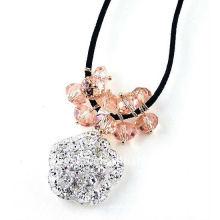 Modische neue Design-Halskette mit roundelle Perlen