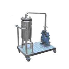Logement de cartouche de sac de filtre liquide d'acier inoxydable