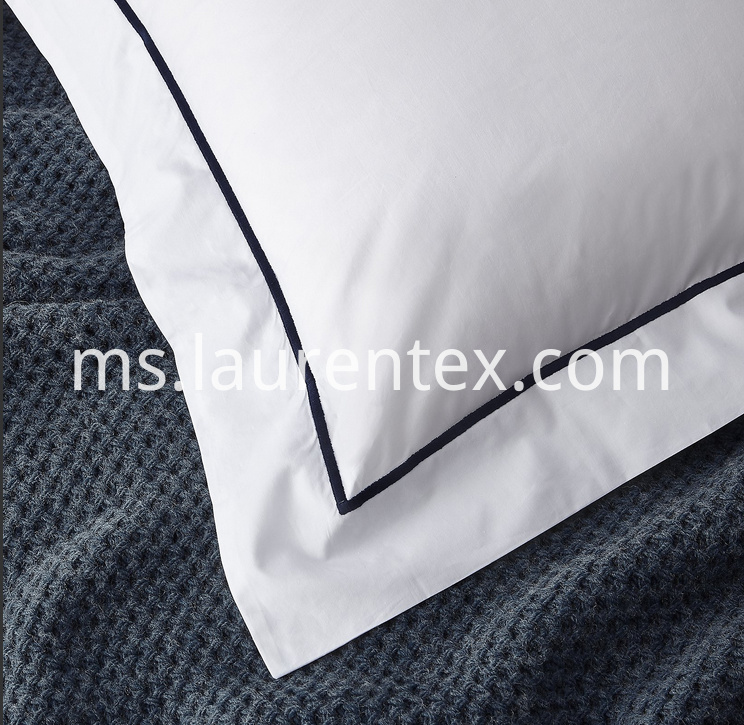 Embroidery Oxford Pillow Case
