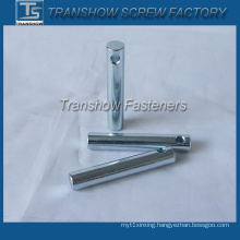 Steel Galvanized Parallel Pins with Hole
