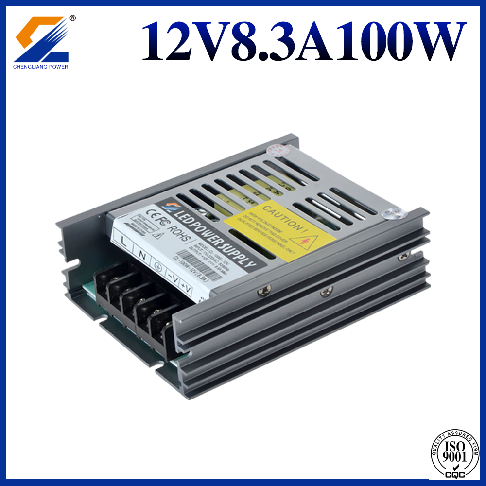 12V 100w strip power supply
