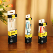 Wholesale Transparent USB Cable Box with Hook