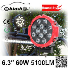 Heavy Duty Flash led light 60W 6.3 Inch new machine work light