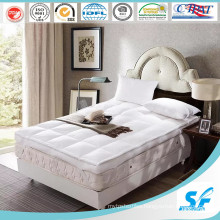 2016 Luxury 7D Hollow Fiber Fill Baffle Box Mattress Topper