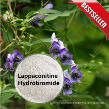 Anesthésie locale CAS 97792-45-5 de produits naturels de poudre de bromhydrate de lappaconitine