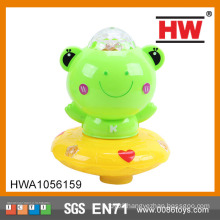 2015 New design musical wholesale musical light plastic frogs