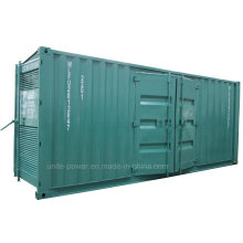 650kVA Mtu Benz Diesel Engine Soundproof Generator