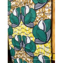 Tissu africain imprimé à la cire 100% coton