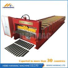La popular máquina para fabricar tejas corrugadas para techos