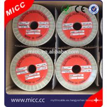 Tipo redondo NICR8020 0.42mm alambre de resistencia de calefacción