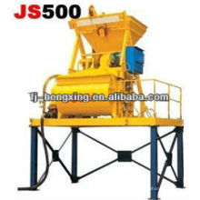 Twin-Shaft Concrete Mixer for block machine JS500(Mixing Machine)