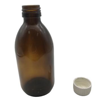 200ml Brown Oral Liquid Glass Bottle  Brown Syrup Bottle