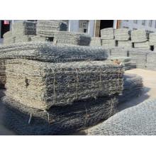 Korrosion Resitiance Zink beschichtet Geotas Gabion Box für Dekoration