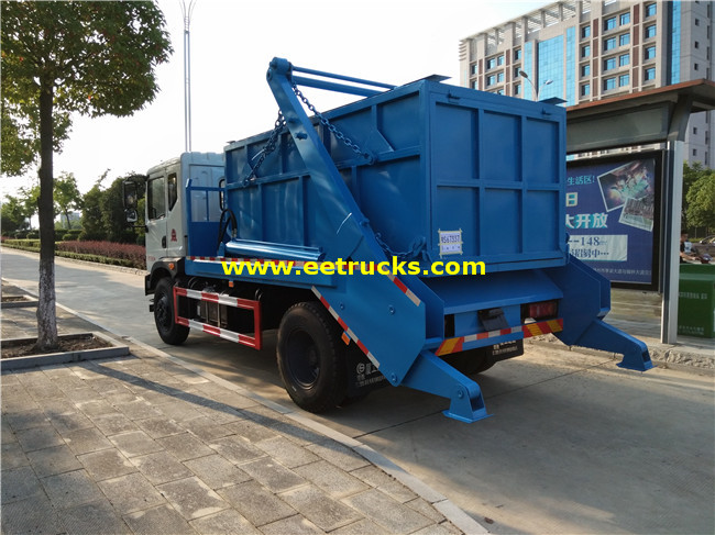 Swing Arm Garbage Trucks