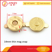 14mm magnetic snap closure for purse