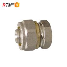 garnitures de compression de prise de tuyau en laiton pour le tuyau multicouche