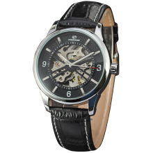 Leather Strap Automatic custom watch manufacturer