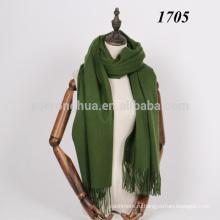 100% овечья шерсть толстая шерсть шарф для зимы
