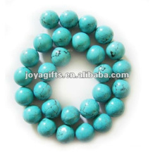 14MM Magnesite turquoise round beads