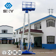 Aluminum Platform Single Mask Aerial Moveable Work Platform For One People