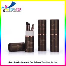 Shenzhen Supplier Round Cylinder Shape Eye Brush Set Paper Box