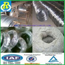 Fio de ligação / dubai importação galvanizada rebar amarrar fio / material de construção
