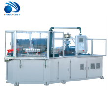 Vends manuel en plastique injection verticale de soufflage faisant la machine