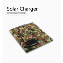 Solar Panel Charger Dual USB Ports 5V 3.1A USB Charger for Mobile