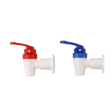 Plastic tap for bucket with quality assurance