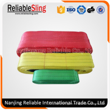 Cargo Lifting Rigging Hardware Polyester Correas Sling / Lifting Belt